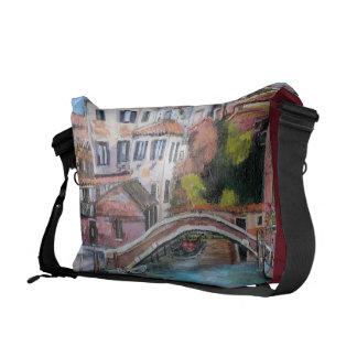 Venice Canals, Large Messenger Bag