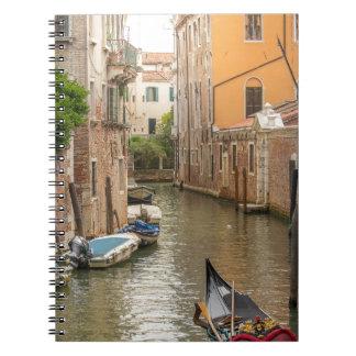 Venice canals notebook