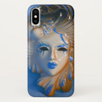 Venice Carnival Beauty iPhone XS Case