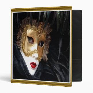 Venice Carnival Mask Binder