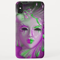 venice carnival mask iPhone XS max case