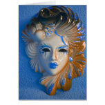 Venice Carnival Mask Greeting Cards