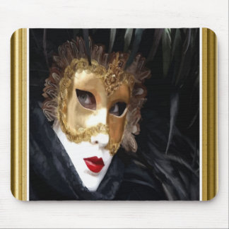 Venice Carnival Mask Mousepad
