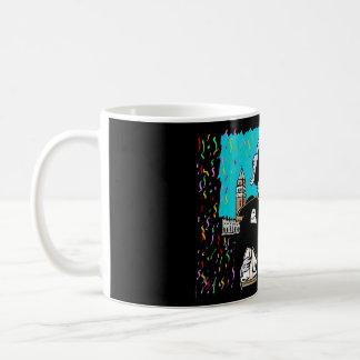 Venice carnival coffee mugs