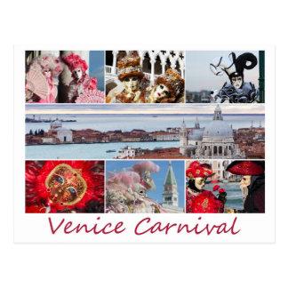 Venice Carnival Postcard