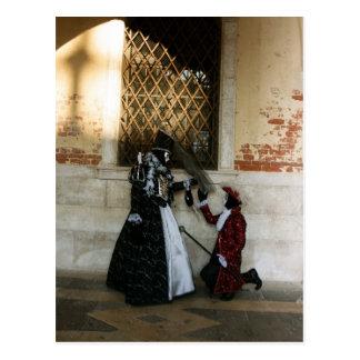 Venice Carnival VIII Postcard