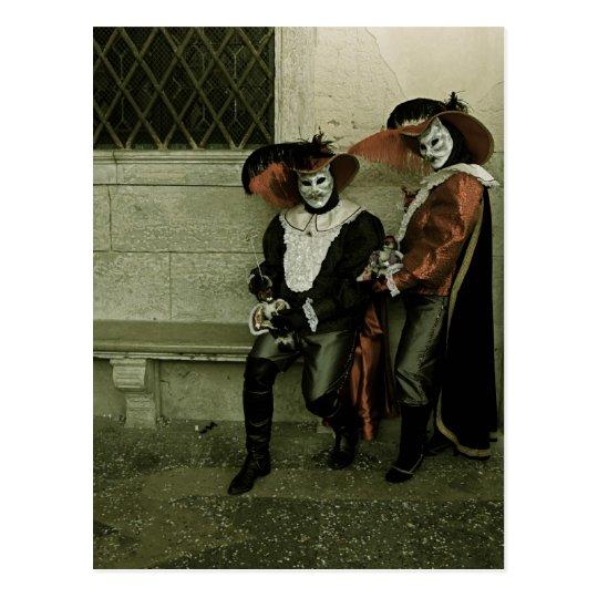 Venice Carnival XVII Postcard