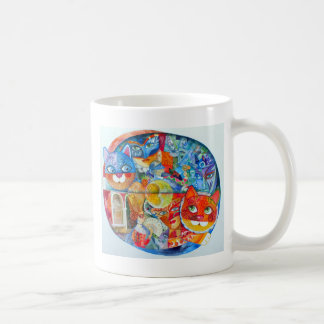 Venice cats carnaval coffee mug