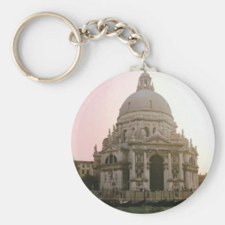 Venice Church Keychain