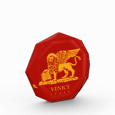 Venice Coat of Arms Acrylic Award