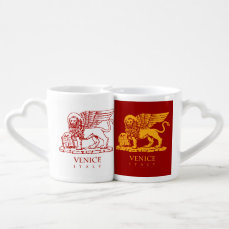 Venice Coat of Arms Coffee Mug Set