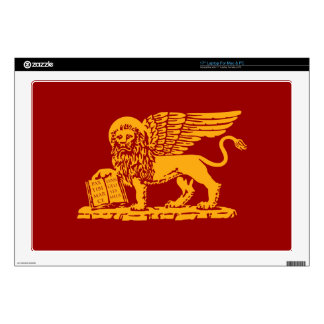 "Venice Coat of Arms Decals For 17"" Laptops"
