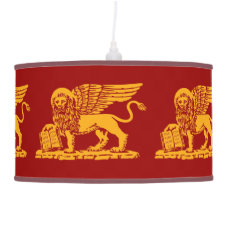 Venice Coat of Arms Hanging Lamp