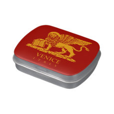 Venice Coat of Arms Jelly Belly Candy Tin