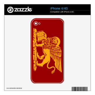Venice Coat of Arms Skin For The iPhone 4S