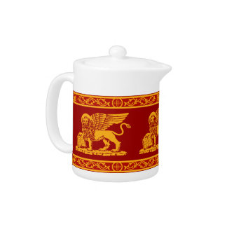 Venice Coat of Arms Teapot