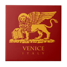 Venice Coat of Arms Tile