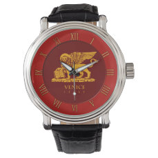 Venice Coat of Arms Wrist Watches