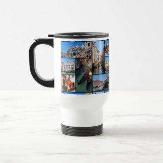 Venice collage mugs