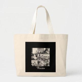 Venice Collage Souvenir Gift Tote Travel Bag Purse