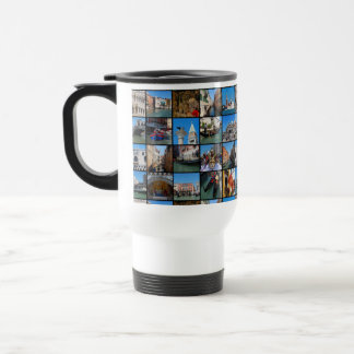 Venice collage travel mug