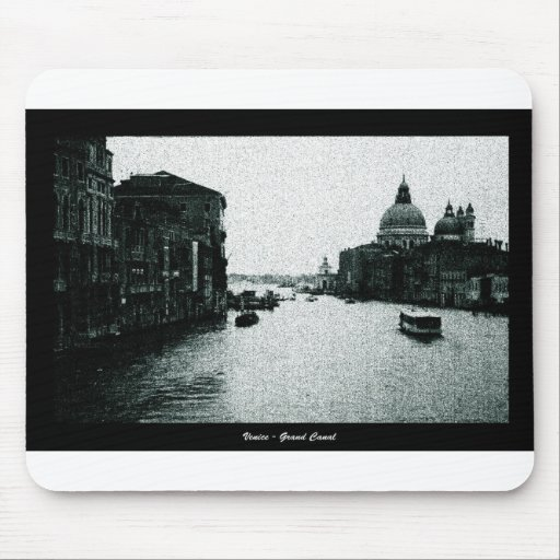 venice cyanotype mouse pad
