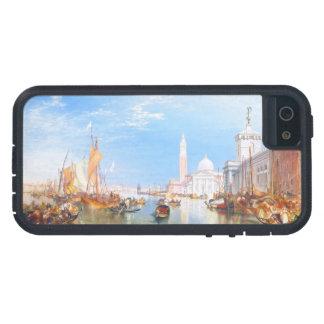 Venice, Dogano and Santa Maria della Salute art iPhone SE/5/5s Case