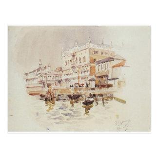 Venice. Doge's Palace. by Vasily Surikov Postcard