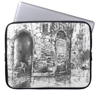 Venice Doorways 1880 Laptop Computer Sleeve