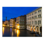 Venice during twilight Postcard