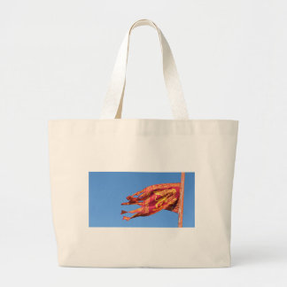 Venice Flag Large Tote Bag