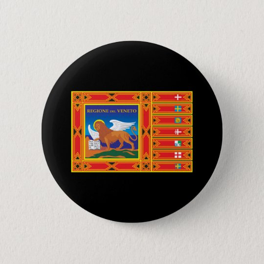 Venice Flag Pinback Button