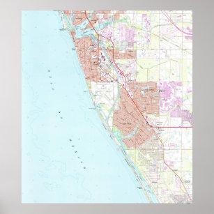 Venice Beach Florida Map.Venice Florida Posters Photo Prints Zazzle