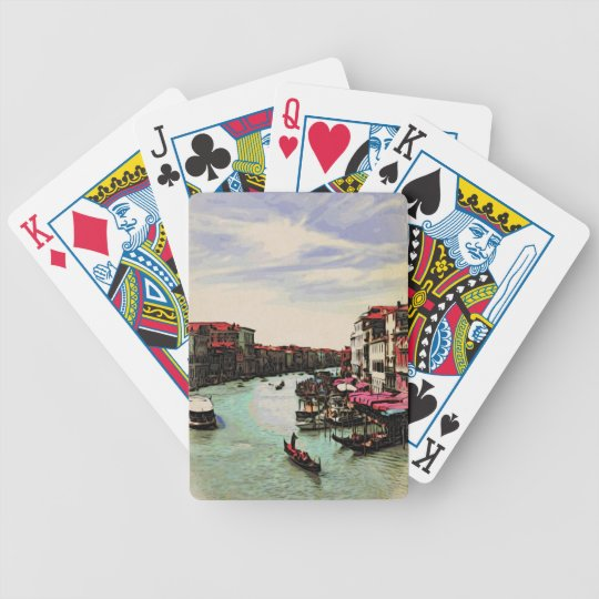 Venice From Above Playing cards