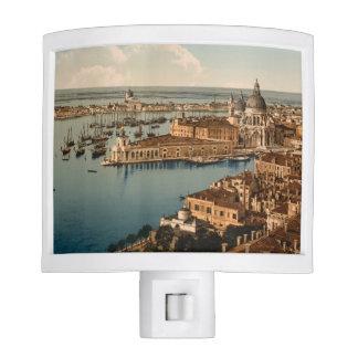 Venice from the Campanile I, Italy Night Light