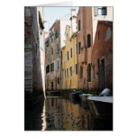 Venice From The Gondola Note Card