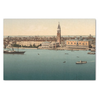 "Venice General View, Venice, Italy 10"" X 15"" Tissue Paper"