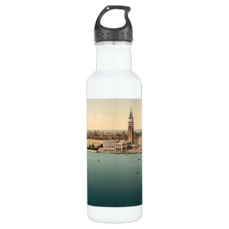 Venice General View, Venice, Italy Water Bottle