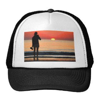 VENICE GIRL AT LIDO SUNSET CAP