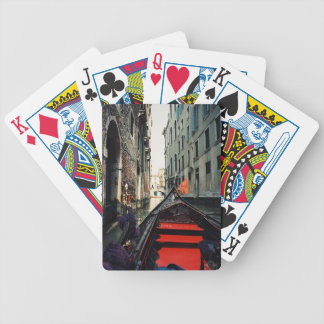 Venice Gondola Bicycle Playing Cards