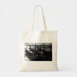 Venice Gondola in the Grand Canal Tote Bags