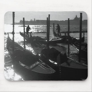 Venice Gondola in the Grand Canal Mouse Pad