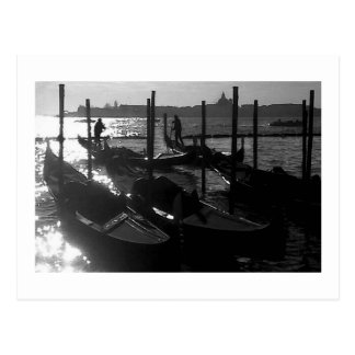Venice Gondola in the Grand Canal Postcard
