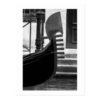 Venice Gondola postcard