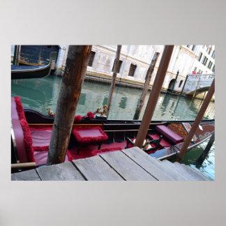 Venice Gondola Póster