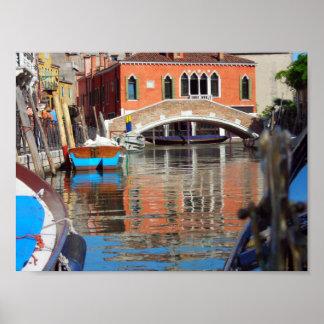 Venice Gondola Print