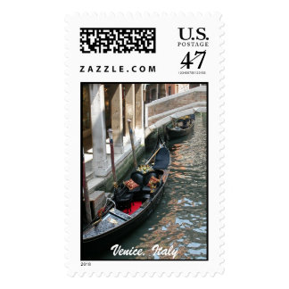 Venice Gondola Stamp