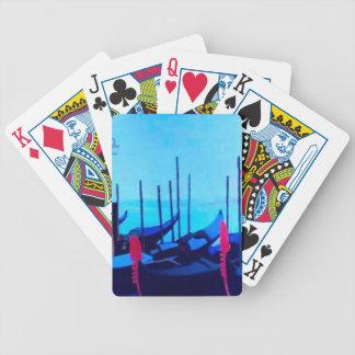 Venice Gondolas Bicycle Playing Cards
