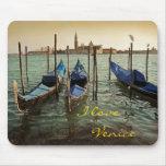 Venice gondolas mousepad