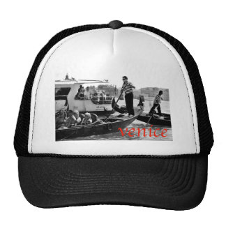 VENICE GONDOLERS ON THE GRAND CANAL TRUCKER HAT